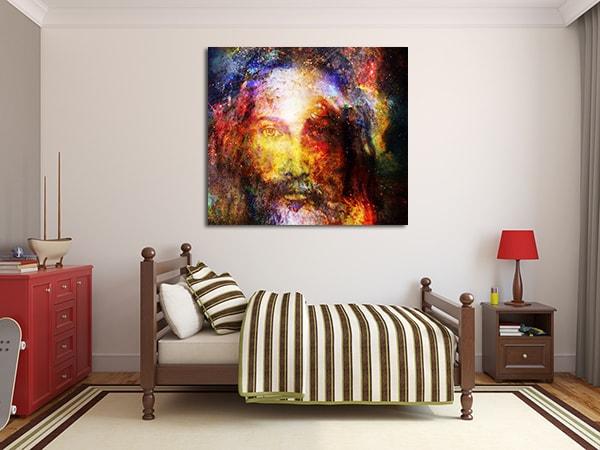 Jesus Christ Canvas Art Print on the Wall