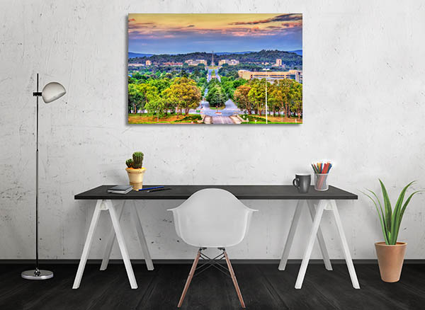 Kings Avenue View Canberra Wall Art