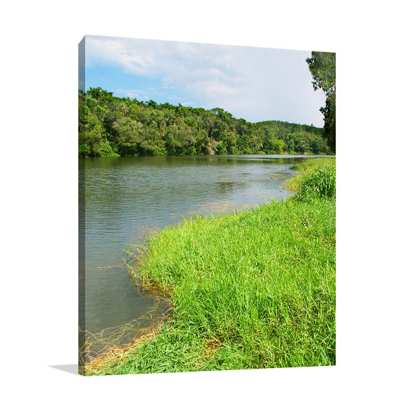 Kuranda Canvas Art Photo Of Barron River Artwork