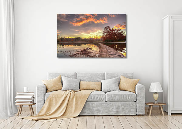Lake Burley Griffin Canberra Canvas Prints