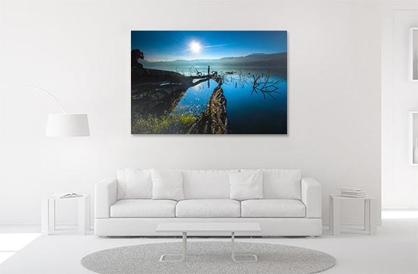 Lake in Bali Print Artwork