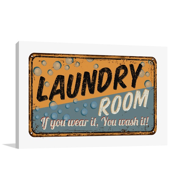 Laundry Room Print Artwork