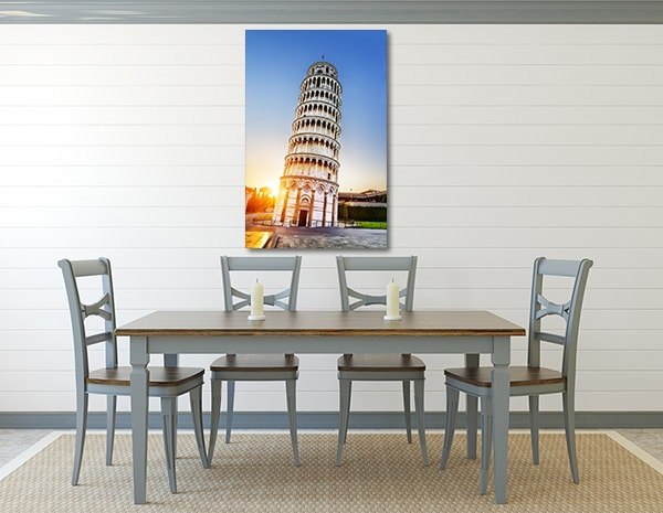 LeaningTower Canvas Art Print Canvas Prints