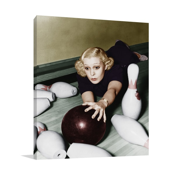 Let's Play Bowling Wall Art