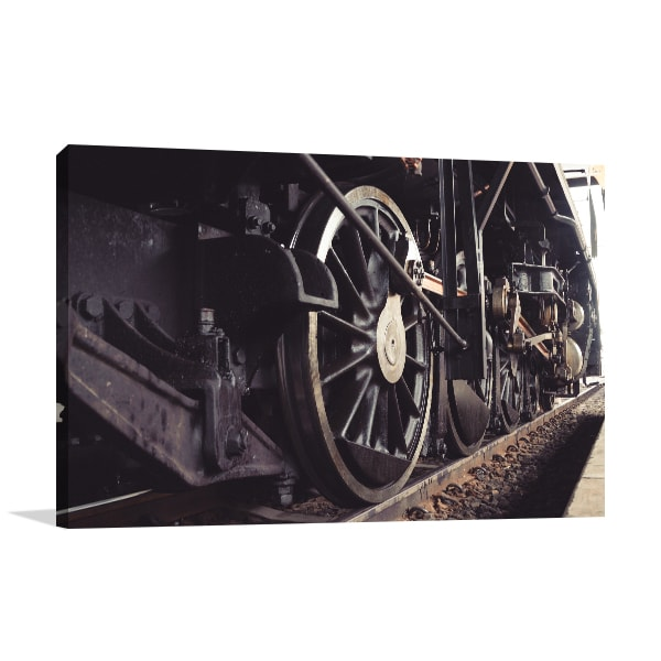 Locomotive Canvas Artwork