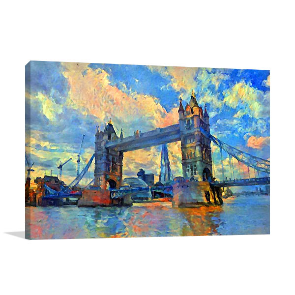 London Bridge Architecture Wall Art