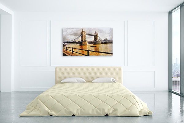 London Bridge Realistic Prints Canvas