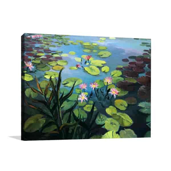 Lotus Pond Art Prints
