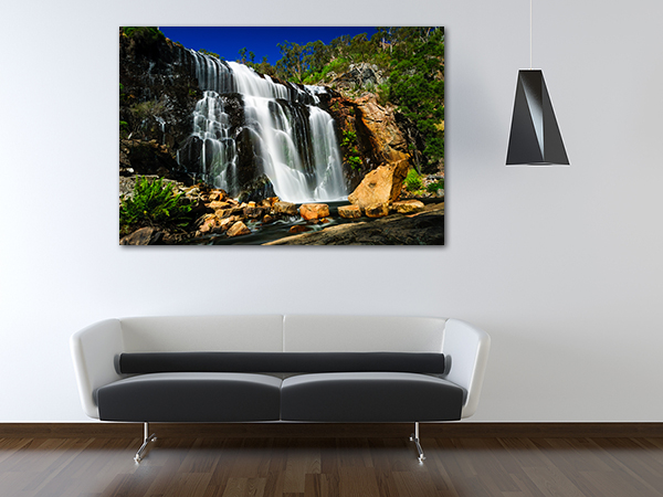 Mackenzie Falls Art Print on the wall