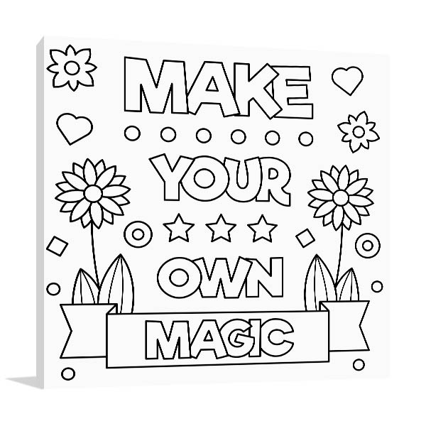 Make Your Own Magic Art Prints