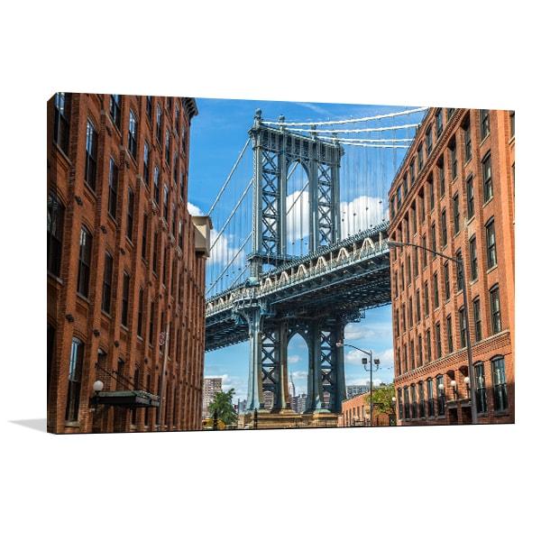 Manhattan Bridge Wall Art