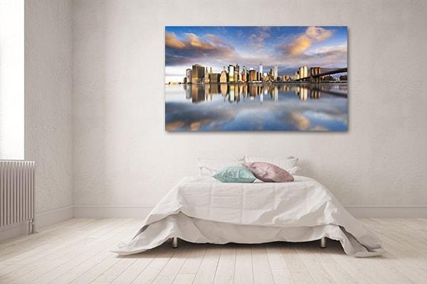 Manhattan Sunrise Prints Canvas
