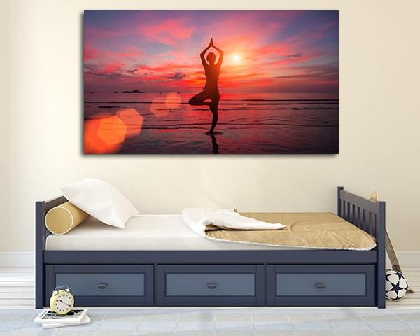 Meditating Prints Canvas