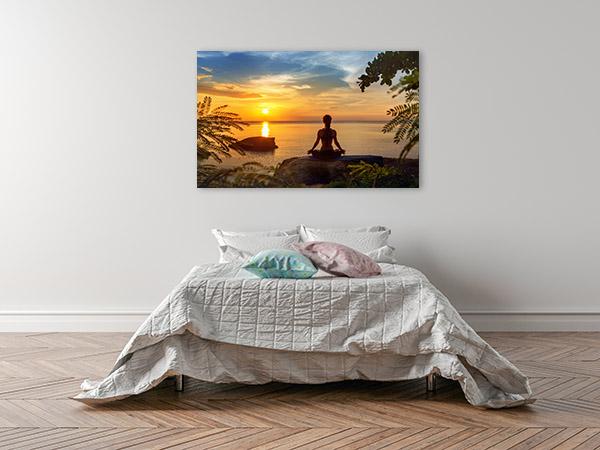 Meditation By The Sea Canvas Art Prints
