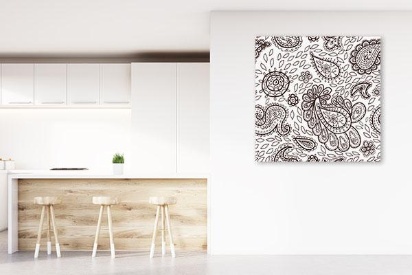 Mehendi Pattern Canvas Prints