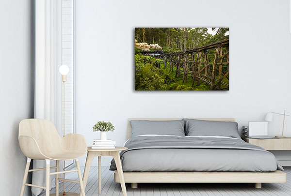Melbourne Art Print Mount Dandenong Wall Art Photo Prints