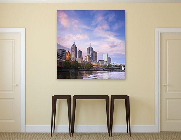 Melbourne Cityscape Prints Canvas