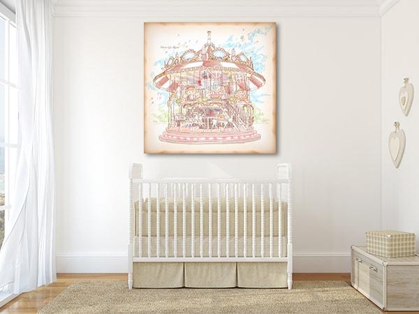 Merry Go Round Canvas Prints