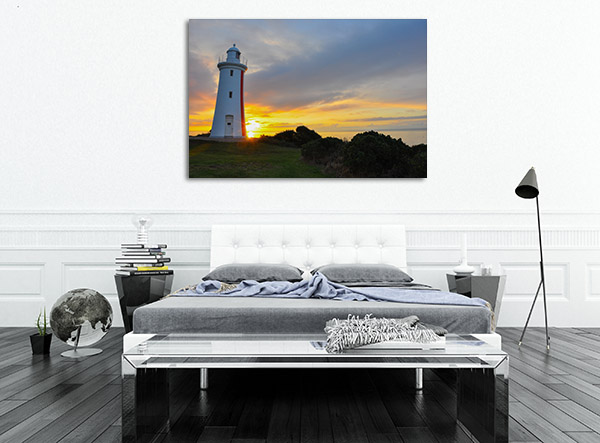 Mersey Bluff Sunset Devonport Prints Canvas