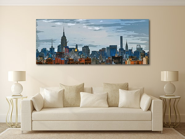Midtown Manhattan Art Prints