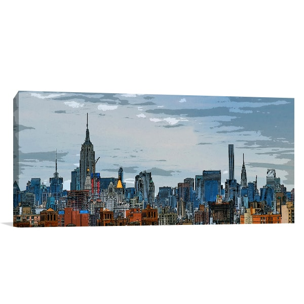 Midtown Manhattan Canvas Prints