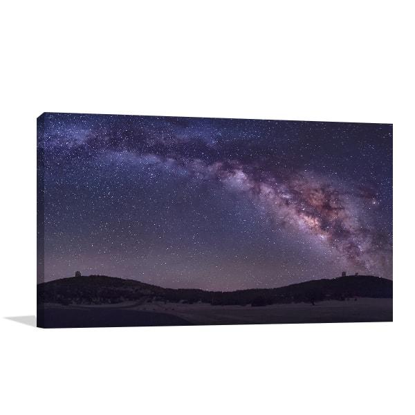 Milky Way Canvas Art