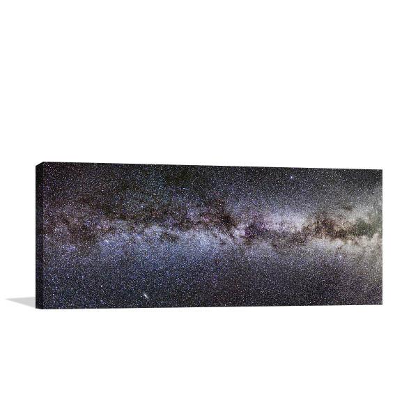 Milky Way Panorama Art Prints