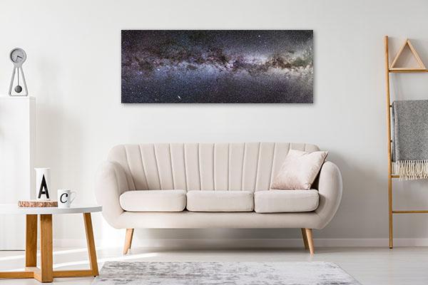 Milky Way Panorama Print Artwork