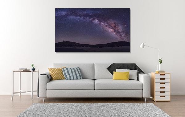 Milky Way Wall Art Print