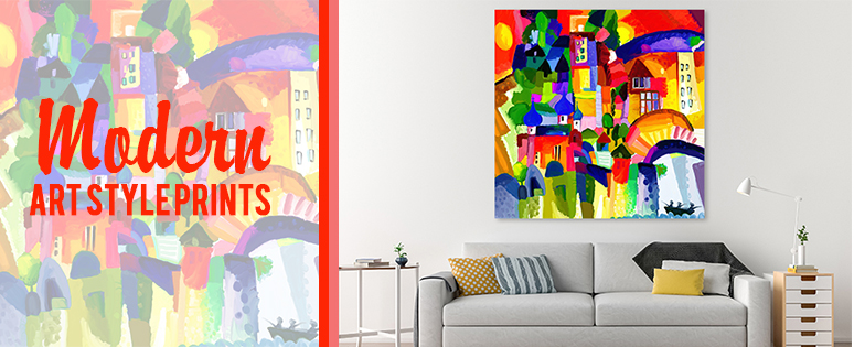 Beau Modern Art Prints