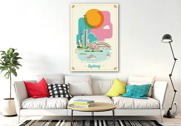 Modern Sydney Print Artwork