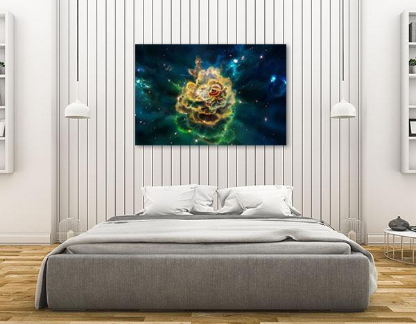 Molecular Cloud Prints Canvas