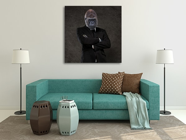 Monkey Business Canvas Prints