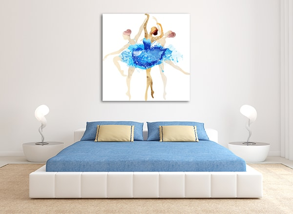 Motion Ballerina Art Prints