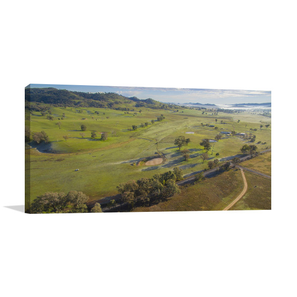 Mudgee Art Print Of Country Side Print Artwork