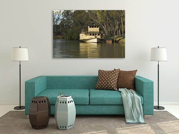 Murray River Albury Prints Canvas
