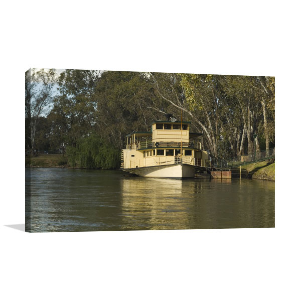 Murray River Albury Print Artwork