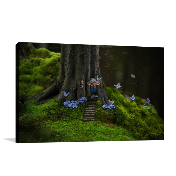 Mysterious Forest Canvas Art Prints