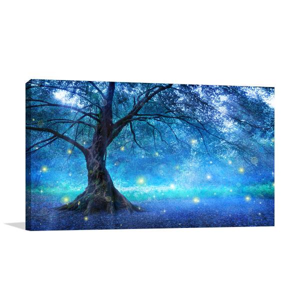 Mystic Forest Print Artwork