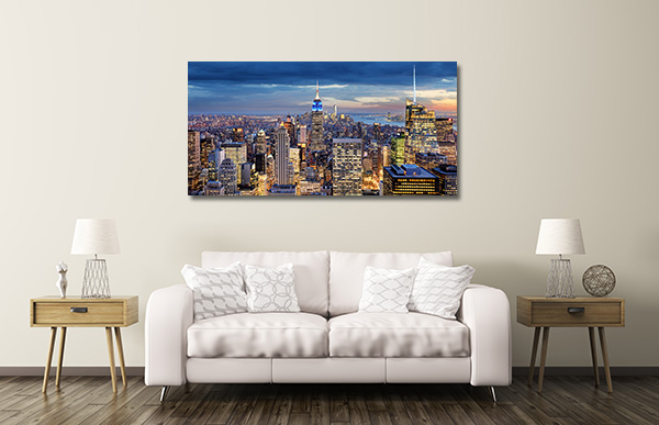 New York City Aerial Prints Canvas