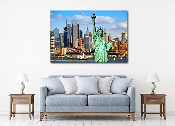 New York Skyline Canvas Art