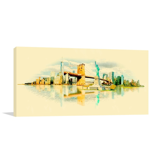 New York Vector Print Artwork