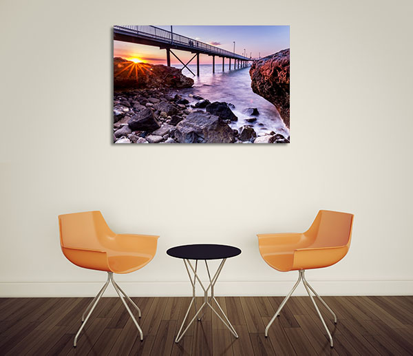 Nightcliff Jetty Darwin Canvas Prints