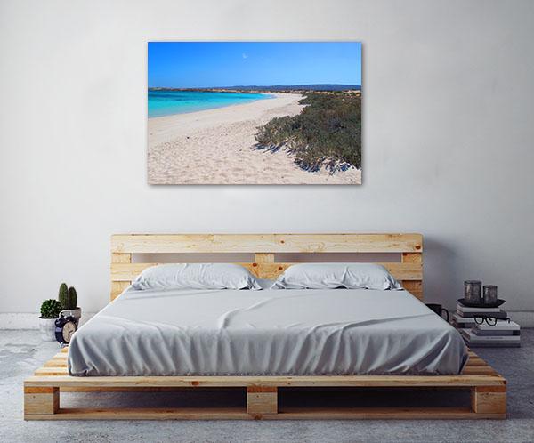 Ningaloo Coast Art Print Turqouise Bay Canvas Wall Art
