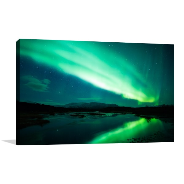 Northern Lights Canvas Art Prints