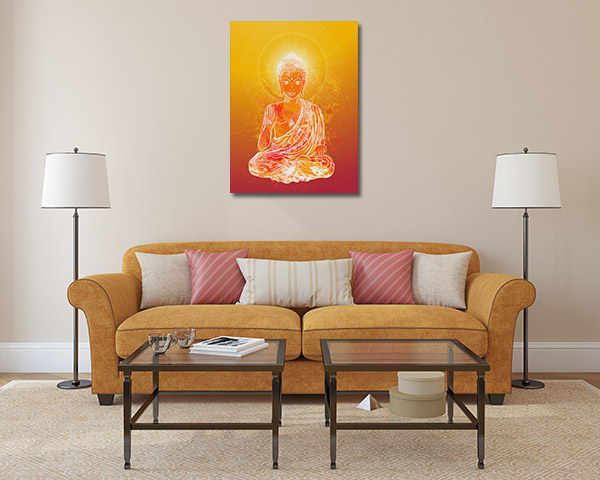 Ornament Buddha Wall Art
