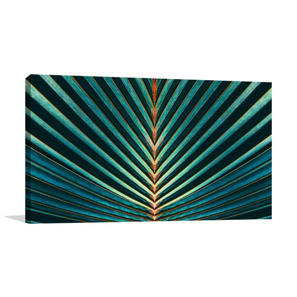 Palm Leaf Wall Art Print | Cool Room Decorations