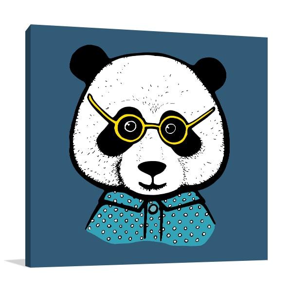 Panda Boy Art Prints