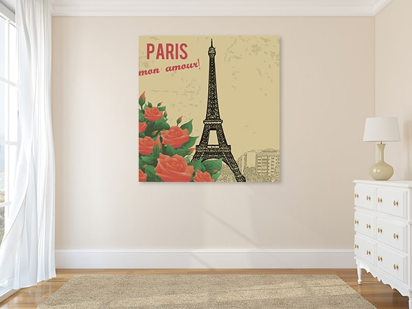 Paris My Love Canvas Prints
