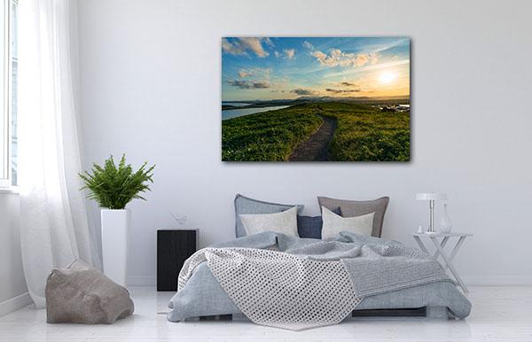 Path Over Hill Coffs Harbour Prints Canvas